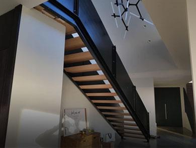 Steel stair fabrication